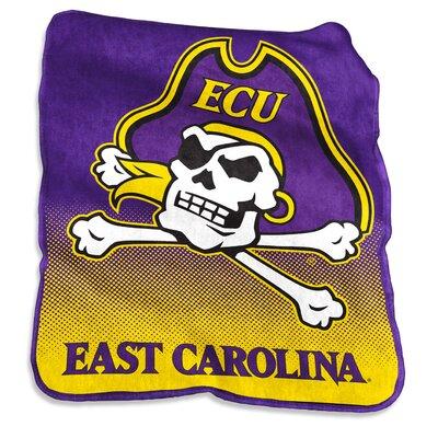 NCAA Raschel Throw NCAA: East Carolina Pirates