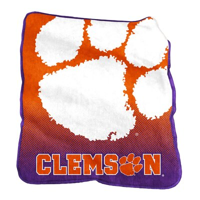 NCAA Raschel Throw NCAA: Clemson Tigers