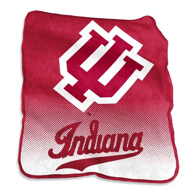 NCAA Raschel Throw NCAA: Indiana Hoosiers