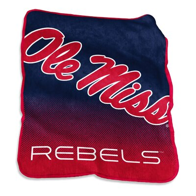 NCAA Raschel Throw NCAA: Ole Miss Rebels