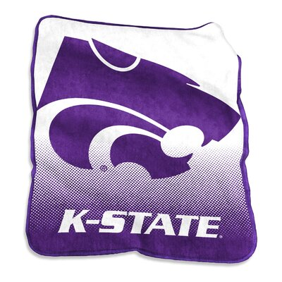 NCAA Raschel Throw NCAA: Kansas State Wildcats