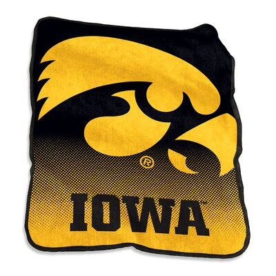NCAA Raschel Throw NCAA: Iowa Hawkeyes