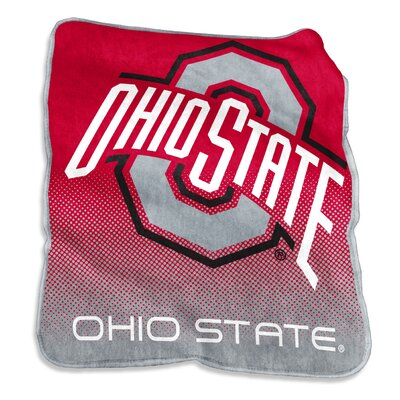NCAA Raschel Throw NCAA: Ohio State Buckeyes