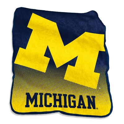 NCAA Raschel Throw NCAA: Michigan Wolverines
