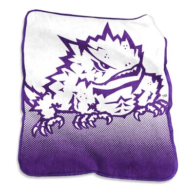 NCAA Raschel Throw NCAA: TCU Horned Frogs