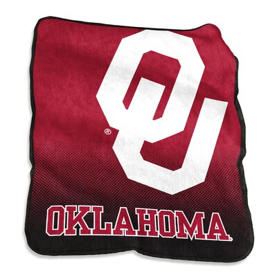NCAA Raschel Throw NCAA: Oklahoma Sooners