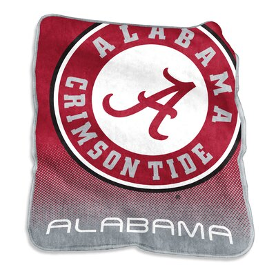 NCAA Raschel Throw NCAA: Alabama Crimson Tide