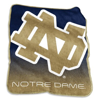 NCAA Raschel Throw NCAA: Notre Dame Fighting Irish