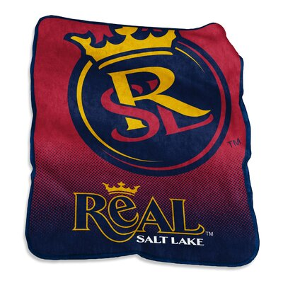 MLS Raschel Throw MLS: Real Salt Lake