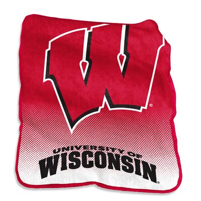 NCAA Raschel Throw NCAA: Wisconsin Badgers