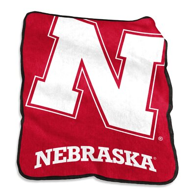 NCAA Raschel Throw NCAA: Nebraska Cornhuskers