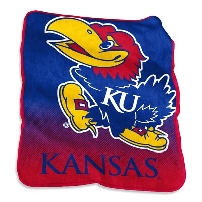 NCAA Raschel Throw NCAA: Kansas Jayhawks