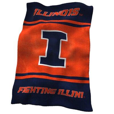 Illinois Ultra Soft Throw 151-27