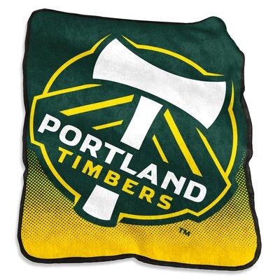 Portland Timbers Raschel Throw