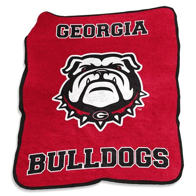 Georgia Mascot Throw
