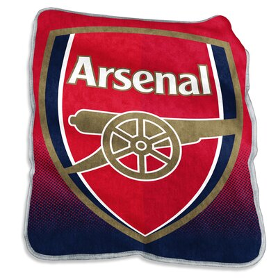 Arsenal Raschel Throw