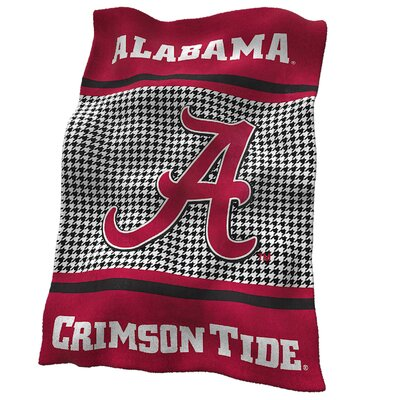 Alabama Houndstooth Ultra Soft Throw