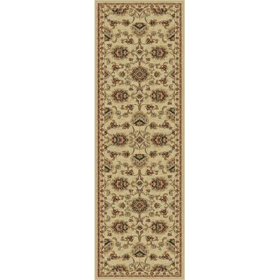 Clarence Ivory Area Rug Rug Size: Runner 2 x 8