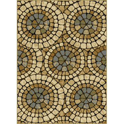 Crawford Beige Area Rug Rug Size: Rectangle 76 x 910