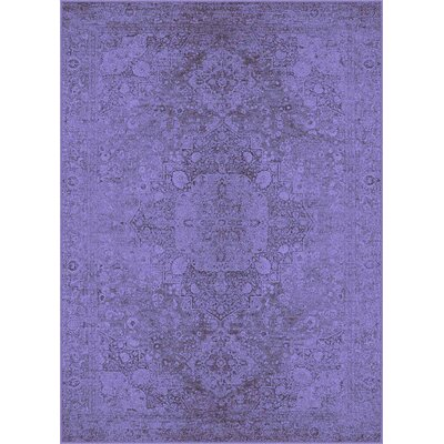 Expressions Purple Area Rug Rug Size: 7'10'' x 10'3''