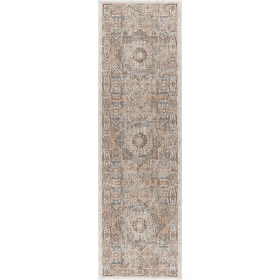 Matteson Traditional Beige Area Rug Rug Size: Runner 2'3