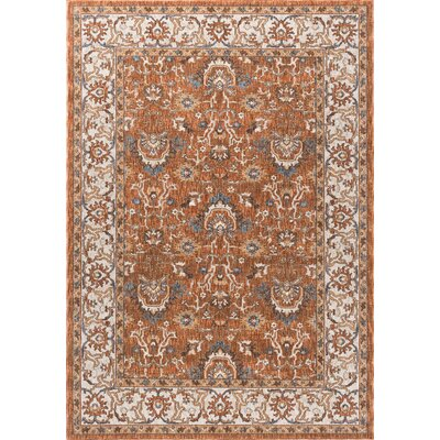 Beryl Traditional Multi-Colored Area Rug Rug Size: 93 x 126