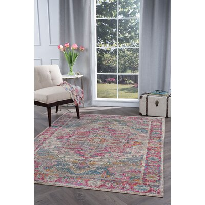Dominick Transitional Taupe Area Rug Rug Size: Rectangle 53 x 73
