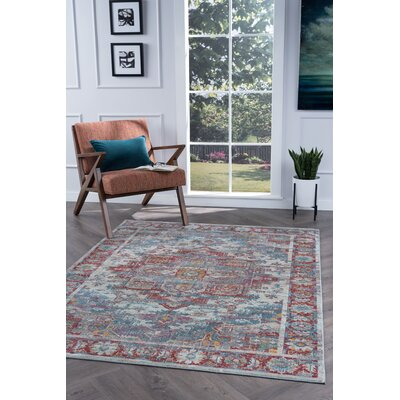 Dominick Transitional Oriental Cream Area Rug Rug Size: 710 x 103
