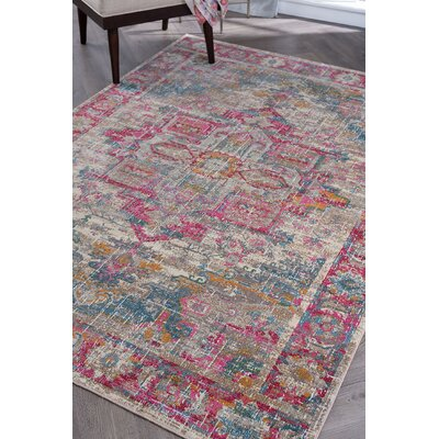 Dominick Transitional Taupe Area Rug Rug Size: 53 x 73