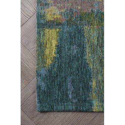 Asdsit Blue Area Rug Rug Size: 67 x 96