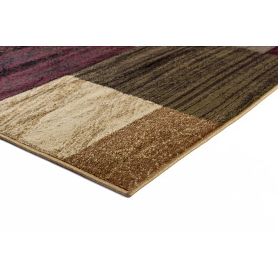 Anjalie Multi 6 ft. 7 in. x 9 ft. 6 in. Oval Contemporary Area Rug Rug Size: Rectangle 93 x 126