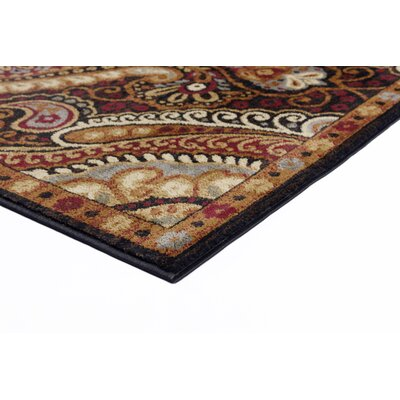 Lapoint Black 9 ft. 3 in. x 12 ft. 6 in. Transitional Area Rug