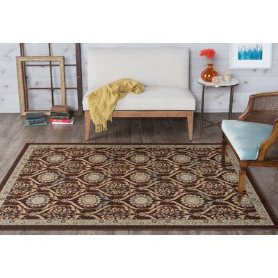 Ashbrook Brown Area Rug Rug Size: 311 x 53