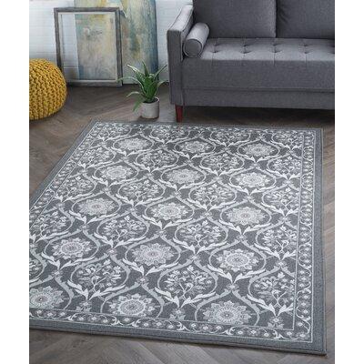 Ashbrook Charcoal Area Rug Rug Size: 311 x 53