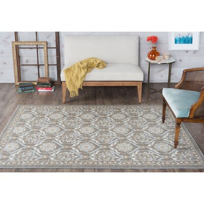Ashbrook Taupe Area Rug Rug Size: 76 x 910