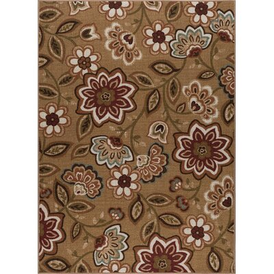 Corrina 3 Piece Beige Area Rug