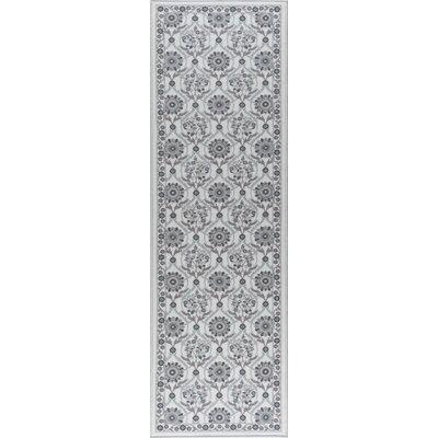 Ashbrook Gray Area Rug Rug Size: 67 x 96