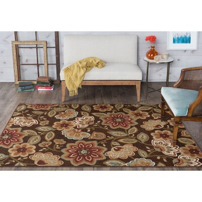 Hosking Brown Area Rug Rug Size: 76 x 910