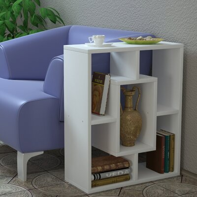 Bair End Table Color: White