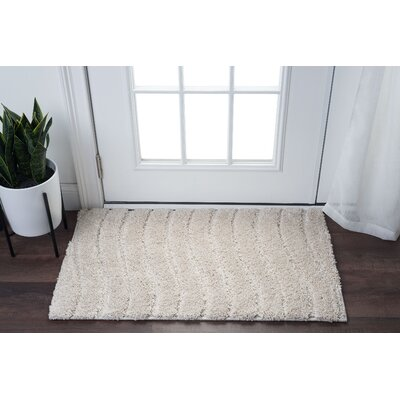 Nassauer Scrollwork Scatter Cream Area Rug Rug Size: Rectangle 2 x 3