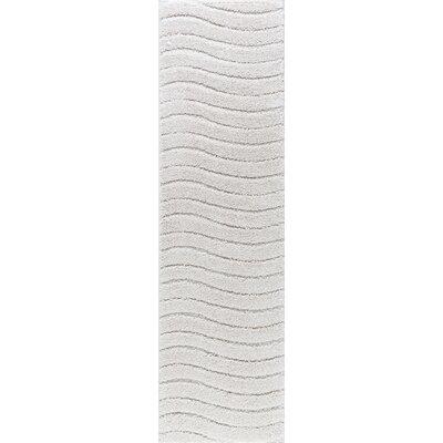 Nassauer Scrollwork Scatter Cream Area Rug Rug Size: Runner 2 x 8