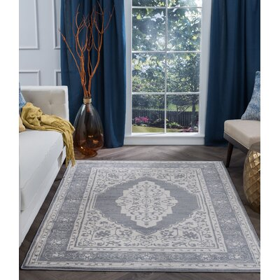 Dolphus Modern Oriental Cream Area Rug Rug Size: Rectangle 2' x 3'