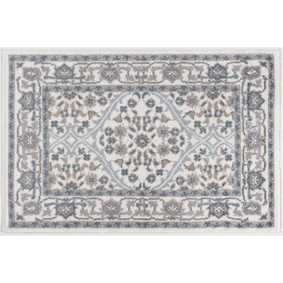 Dolphus Oriental Cream Area Rug Rug Size: Rectangle 5 x 7