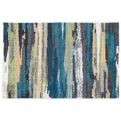 Romriell Oriental Blue Area Rug Rug Size: Rectangle 5 x 8