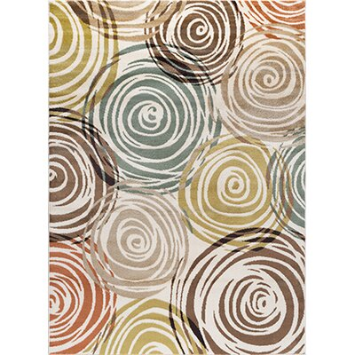 Weishaar Ivory Area Rug Rug Size: Rectangle 2 x 3