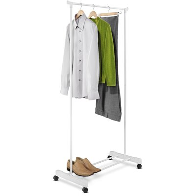 Portable Garment Rack in White