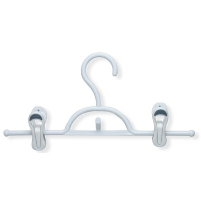 Soft Touch Skirt and Pant Hanger with Clips (Set of 2) HNGT01322
