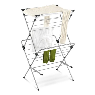 Honey Can Do Two Tier Mesh Top Drying Rack in Navy Blue at Sears.com
