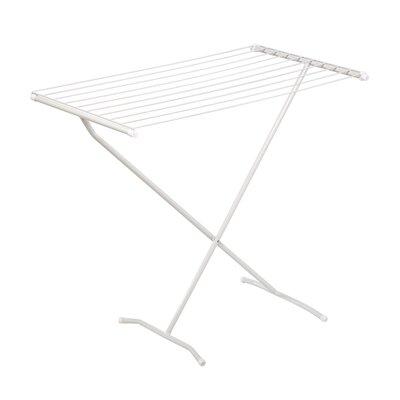 Frame Folding Metal Drying Rack in White DRY-01227