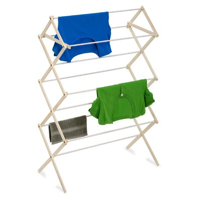 Wood Folding Clothes Drying Rack DRY-01168